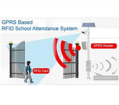 UHF long range attendance system